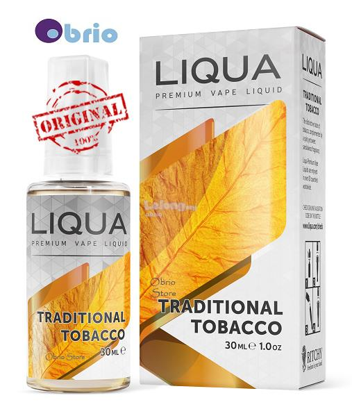 *ORIGINAL* LIQUA Traditional 30ml eLiquid Vapor Vape eJuice