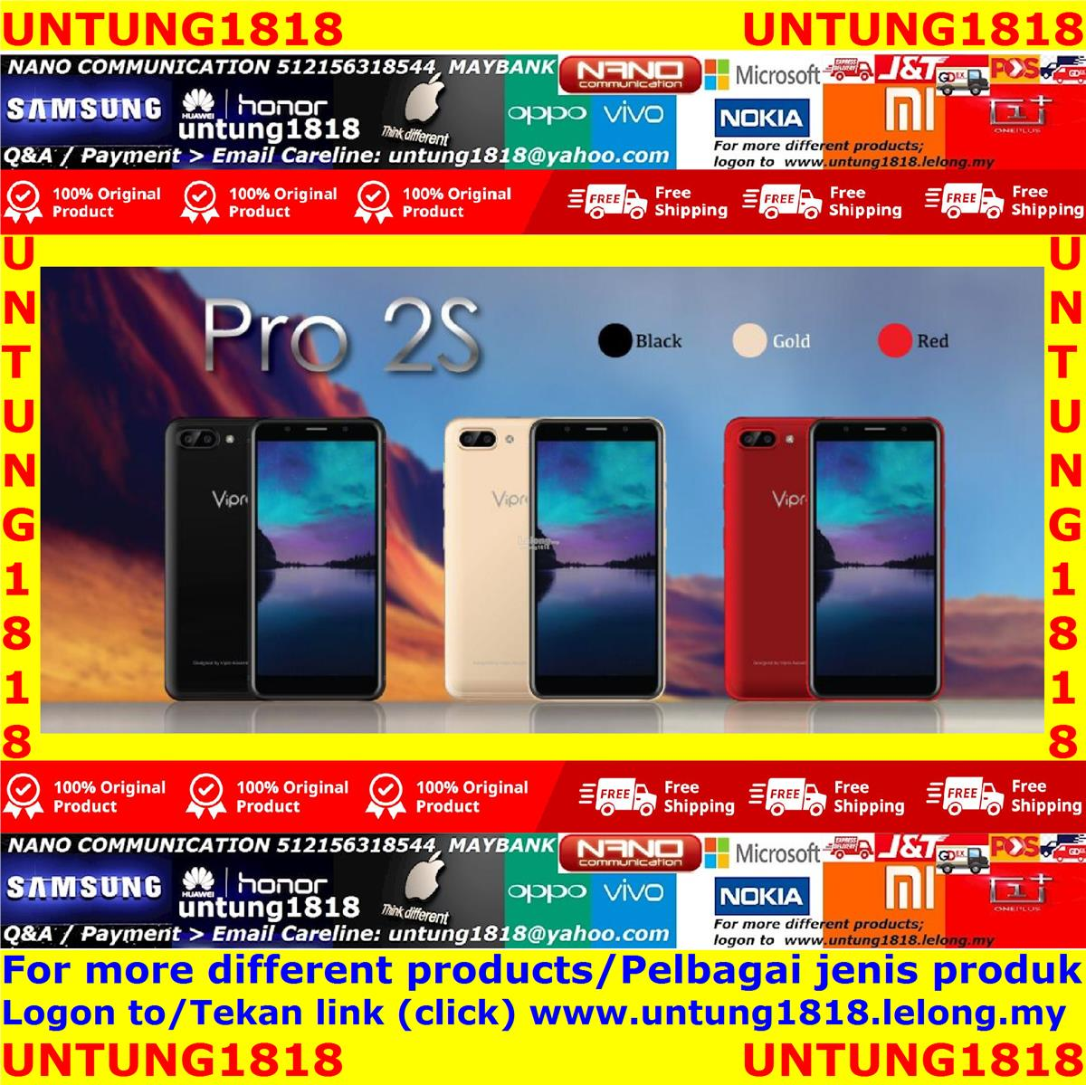 Original Malaysia ViPro.ViPro Pro 2S Android Smartphone