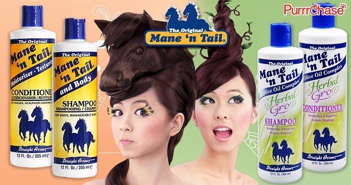 The Original Mane N Tail Shampoo Herball Hair Growth 355ml Hot