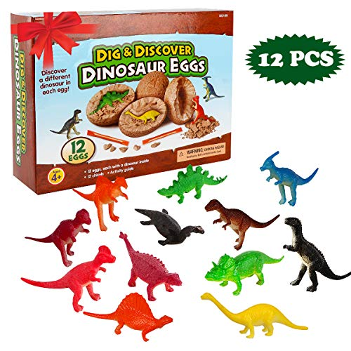 - Original Marysay Dinosaur Eggs Dig It Up Dino Eggs Dig Kit 12 Pack Dinosaur