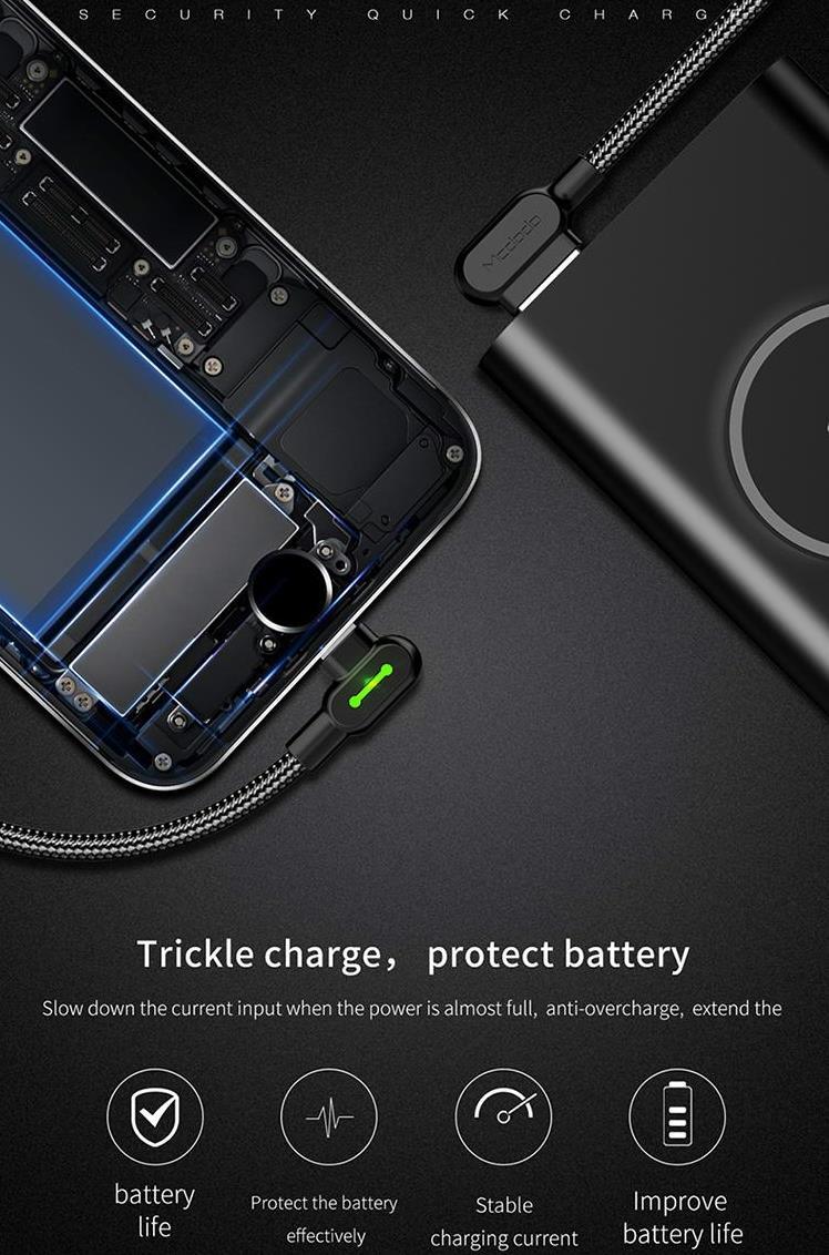 ecd4e016845 ORIGINAL MCDODO CA-467 Lightning Gaming LED Cable iPhone XS XR X 8 7 6