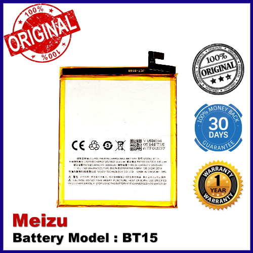 Original Meizu BT15 Meizu M3S Battery