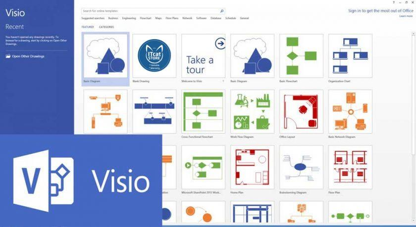 Image result for microsoft Visio