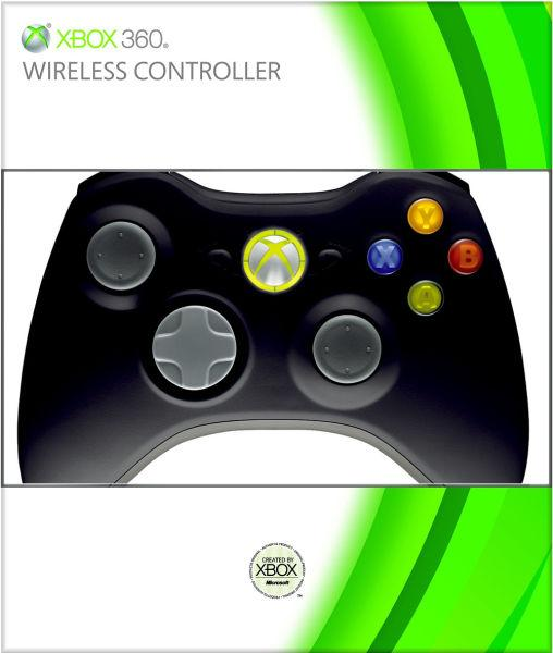 Original Microsoft Xbox 360 Wireless Controller with Box