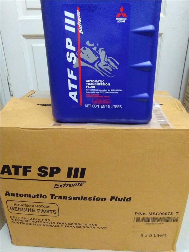 Original Mitsubishi SP3 5ltr packing