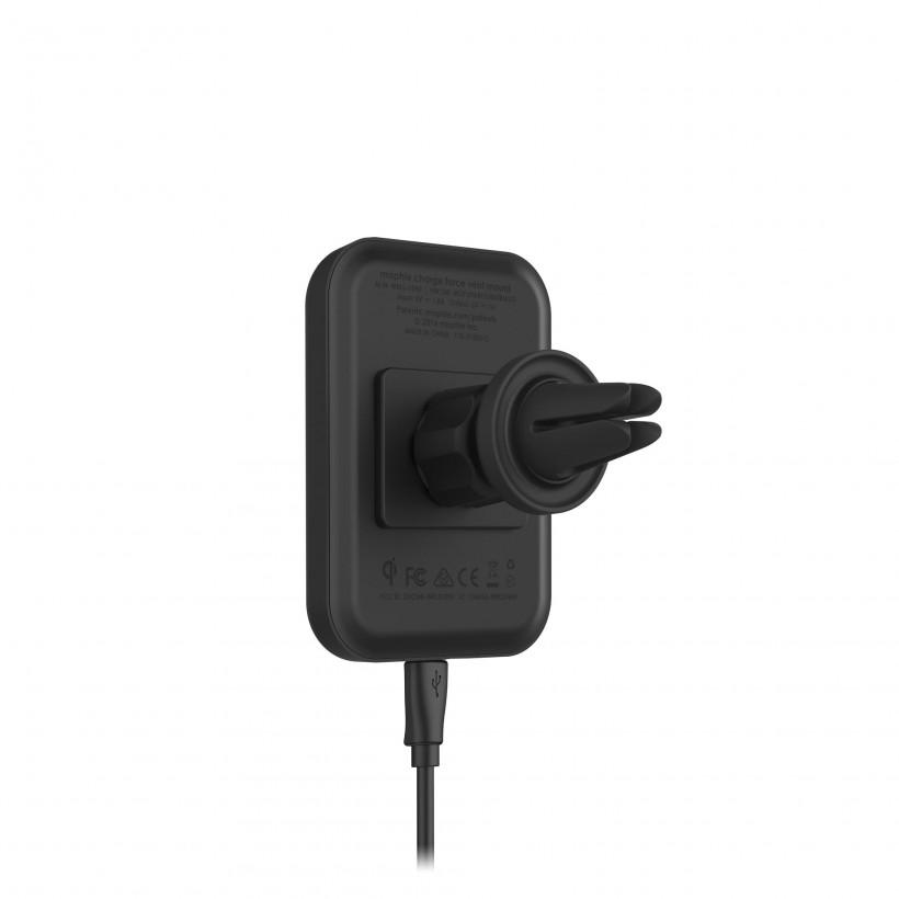 Original Mophie Wireless Charge Force Car Vent Mount for Mophie Cases with Cha