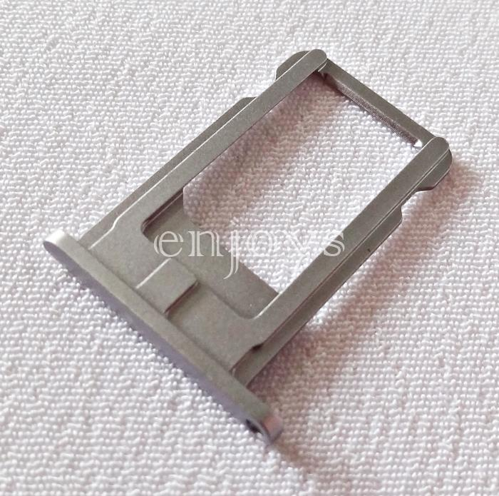 ORIGINAL Nano Sim Tray Holder Apple iPhone 6 ~Card Slot ~Grey /Black