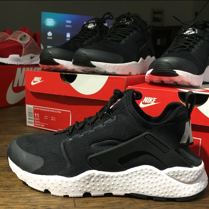 45a868f3e2 ... wholesale cheap c515a 171c6 original nike air huarache ultra black  sneaker sport shoes unisex c0625 49b3f