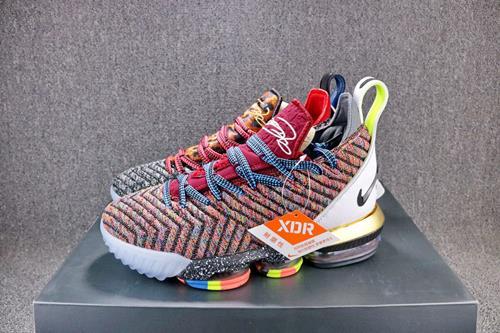 lowest price 342a3 2ae99 Original Nike Lebron James XVI 16 Mandarin Duck Basketball Shoes