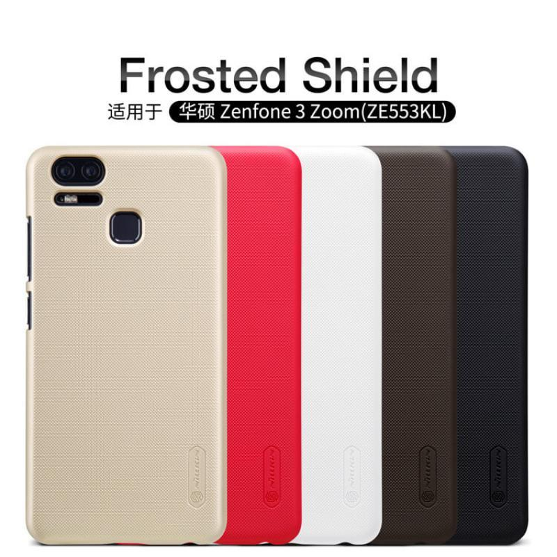 new arrival 0d592 7f70b ORIGINAL Nillkin Frosted Shield case Cover Asus Zenfone 3 Zoom ZE553KL