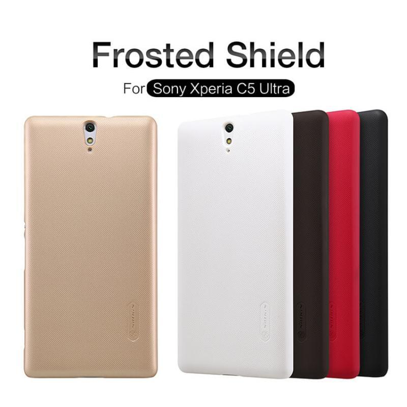ORIGINAL Nillkin Frosted Shield case Sony Xperia C5 Ultra /E5553 E5563
