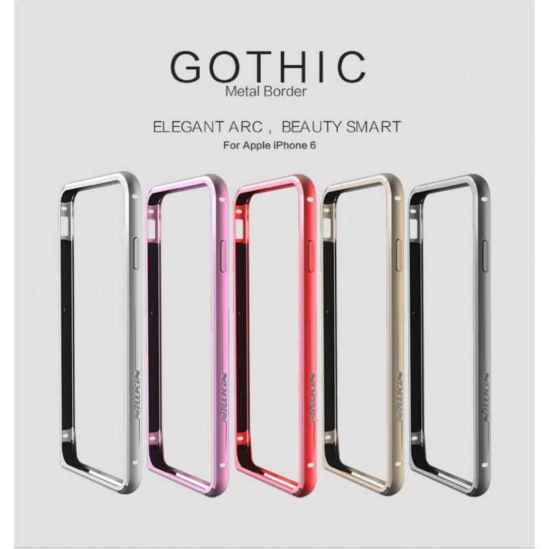ORIGINAL Nillkin GOTHIC Metal Frame Bumper Case Apple iPhone 6 6S 4.7'