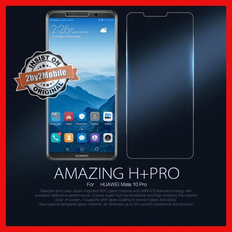 Original Nillkin H+ Pro Huawei Mate 10 Pro Tempered Glass. ‹ ›