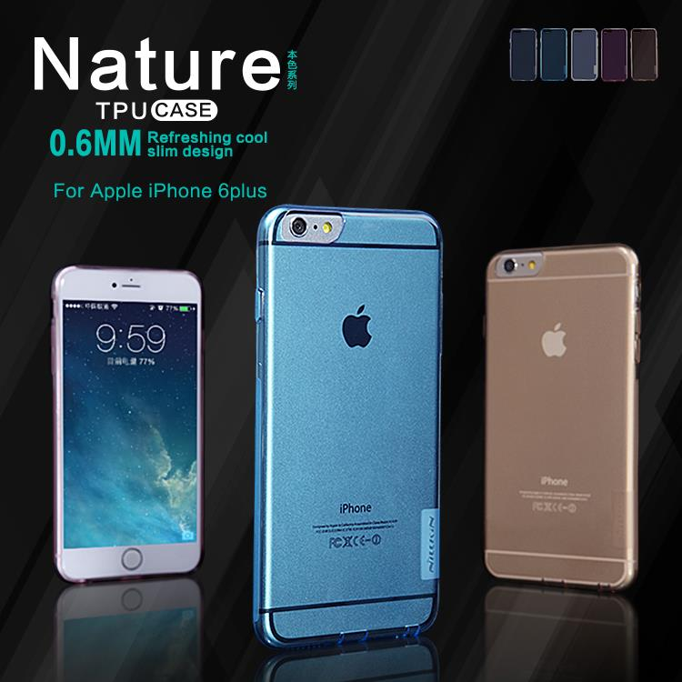 ORIGINAL Nillkin Nature TPU Soft Case Apple iPhone 6 6S Plus (5.5)