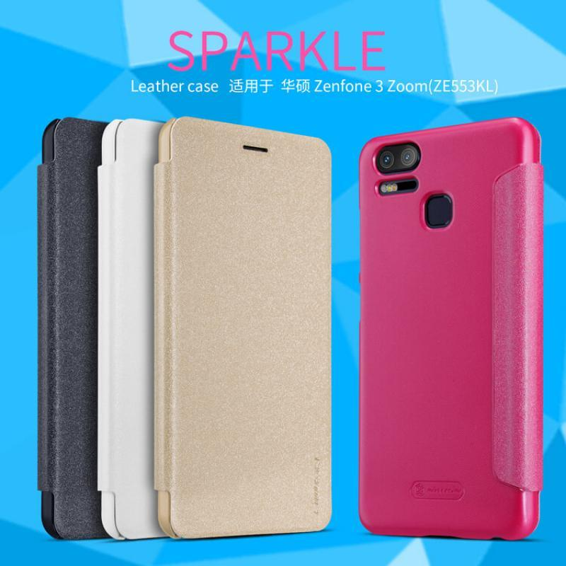 ORIGINAL Nillkin Sparkle Leather case Asus Zenfone 3 Zoom / ZE553KL