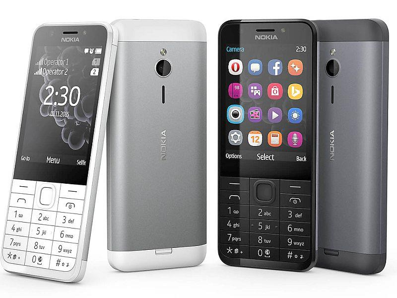 (ORIGINAL) NOKIA WARRANTY Nokia 230 Dual SIM Selfie Internet Enable