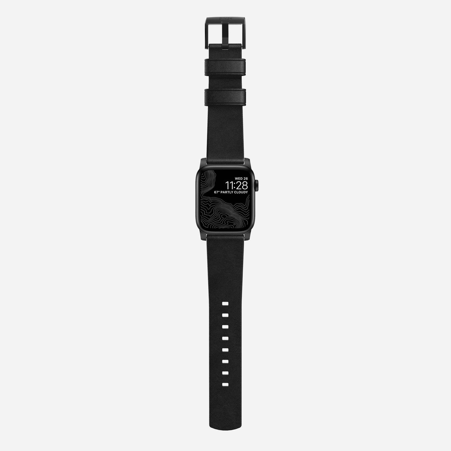Original Nomad Modern Leather Strap for Apple Watch Series 4/3/2 - 44mm/42mm (