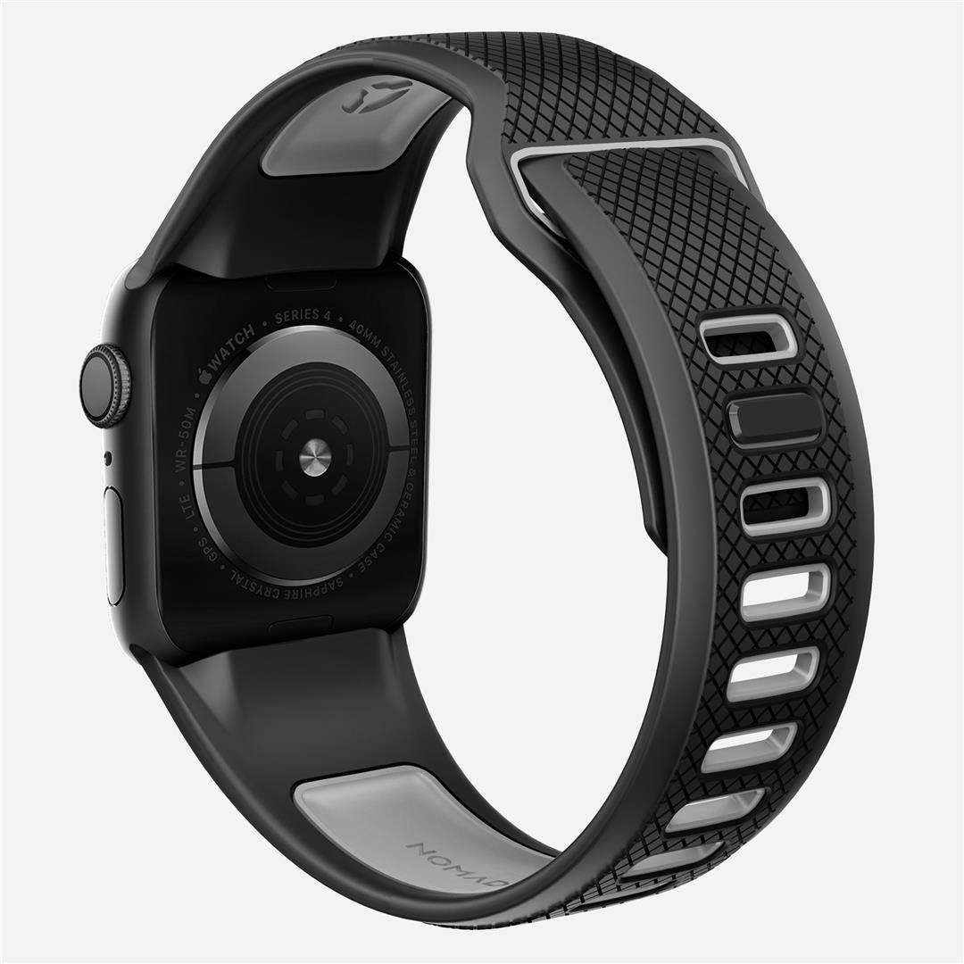 Original Nomad Sport Strap 44mm End 11 15 2019 1215 Pm Apple Watch Series 2 42mm Black 3 4
