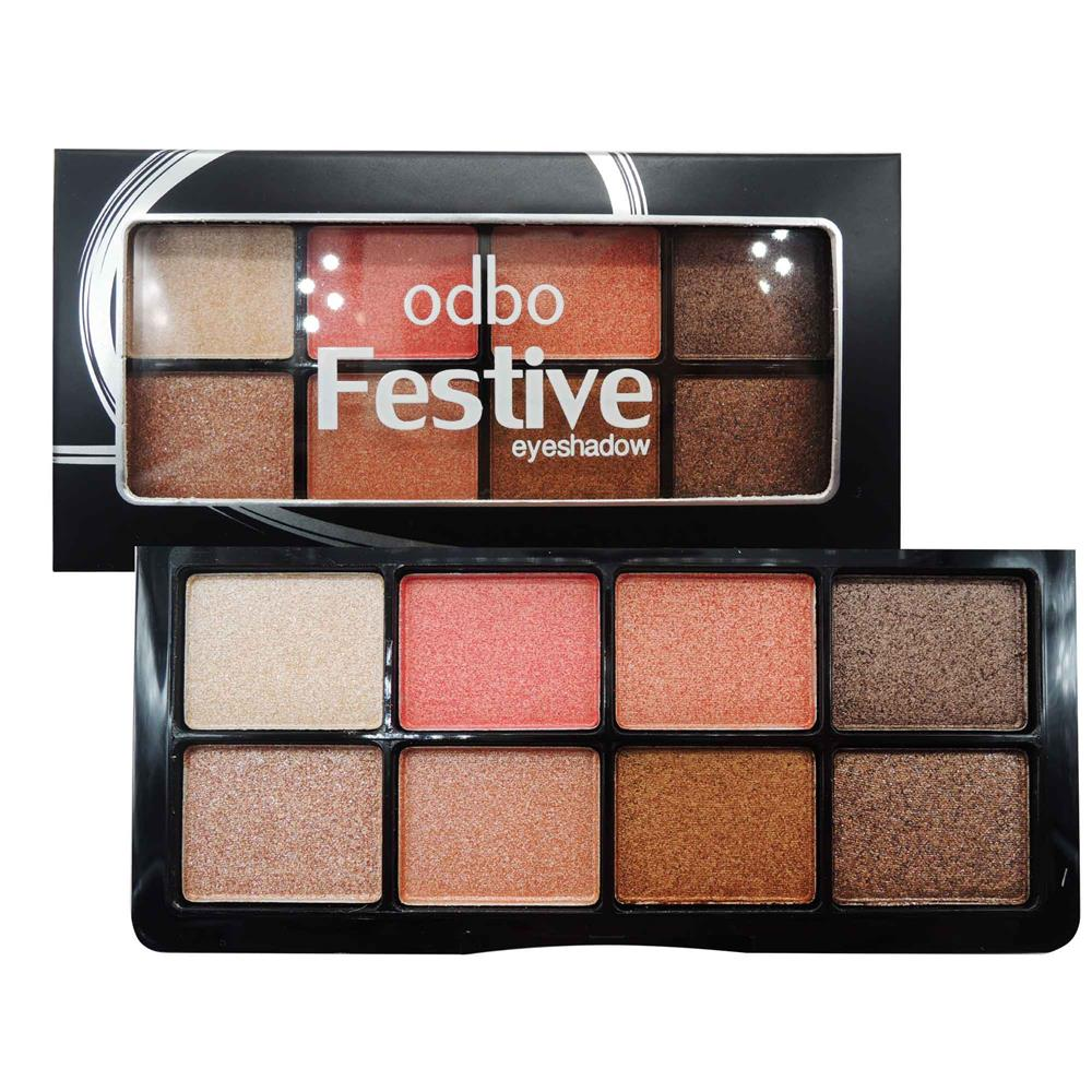 Original ODBO Festive Eyeshadow 8 Different Code 01