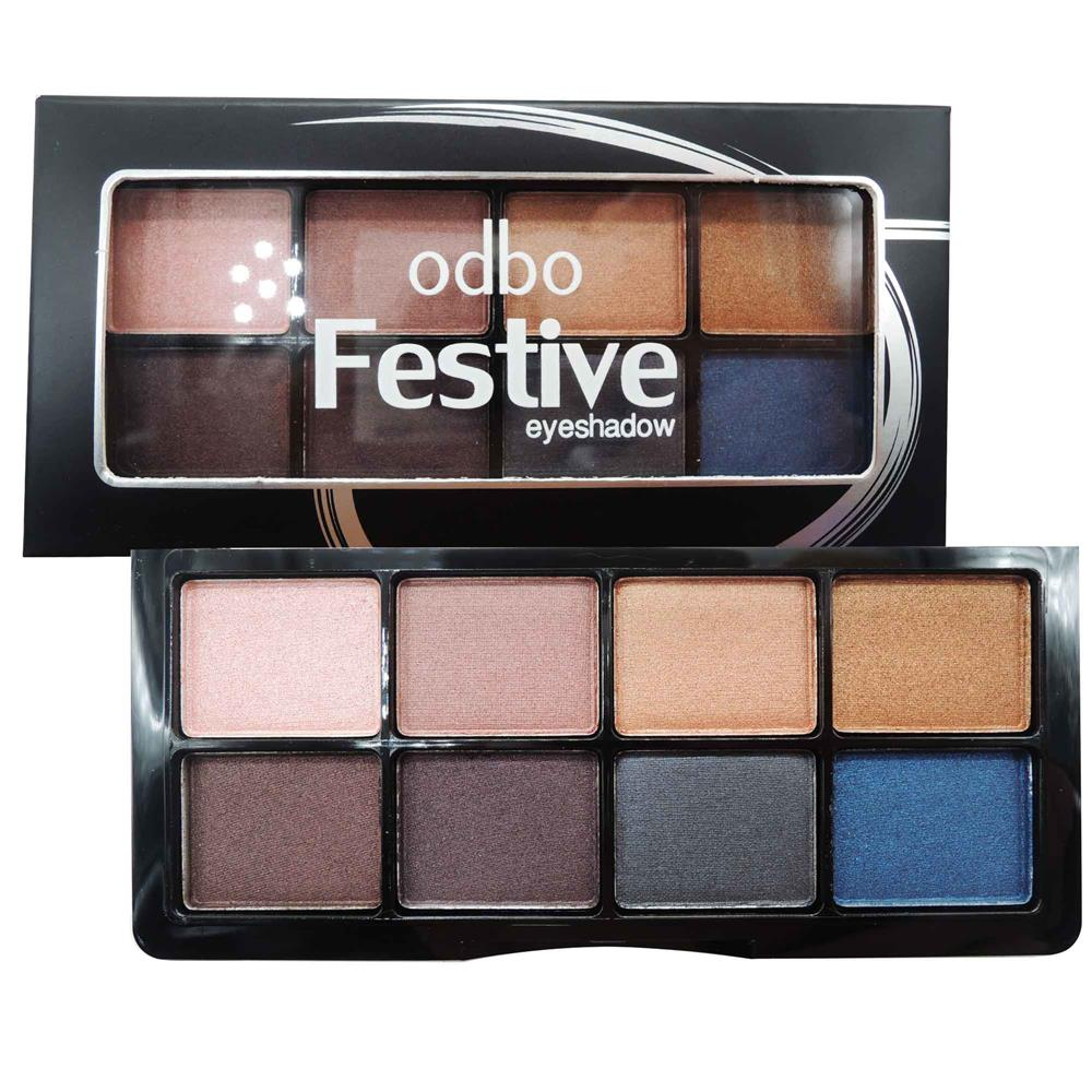 Original ODBO Festive Eyeshadow 8 Different Code 02