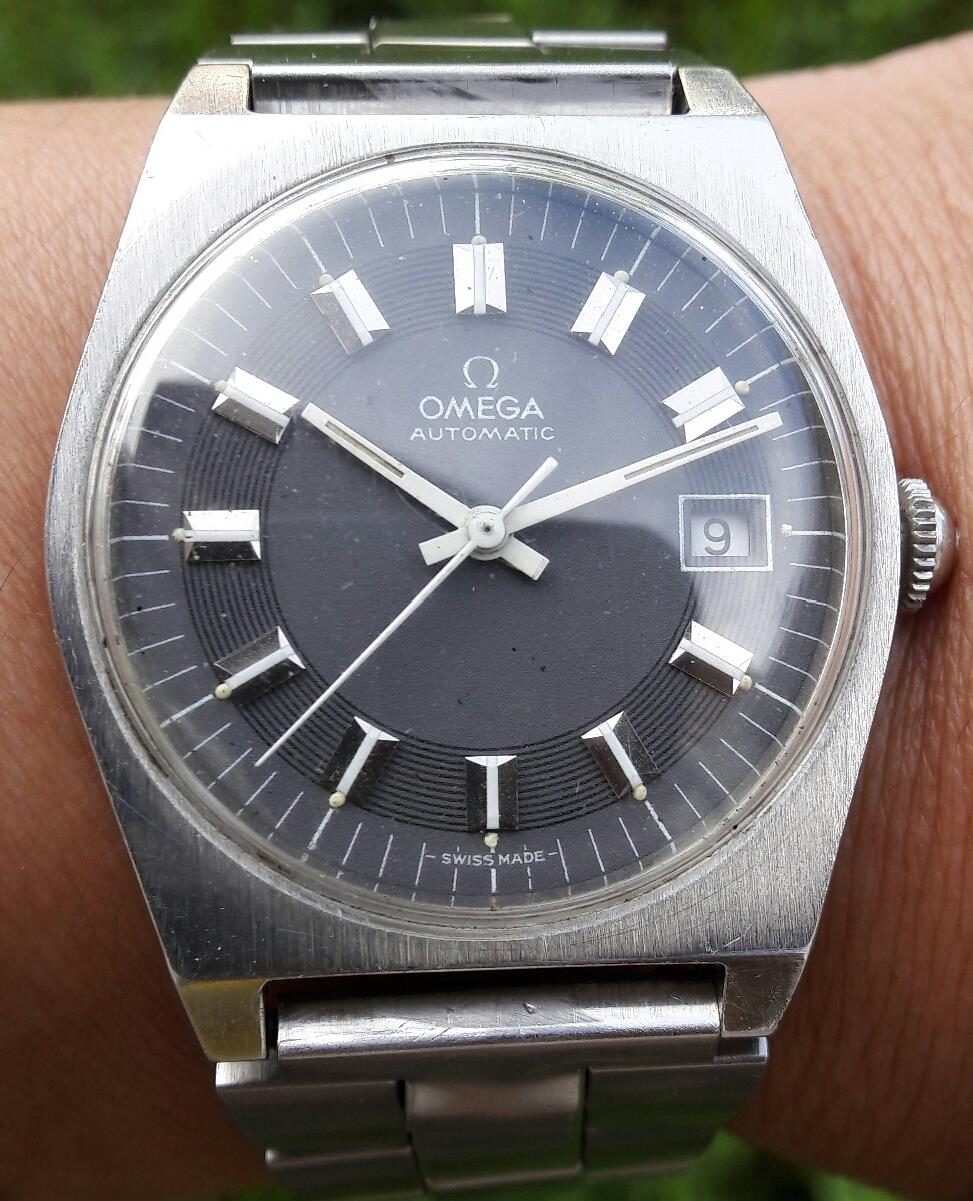 Original Omega 1660118 Cal. 1480 steel bracelet automatic watch