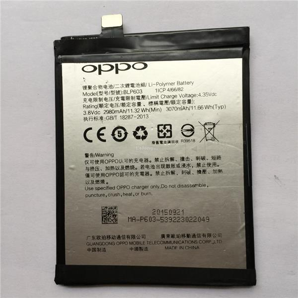 Original Oppo BLP603 R7S Battery Replacement 3070mAh Free Tools
