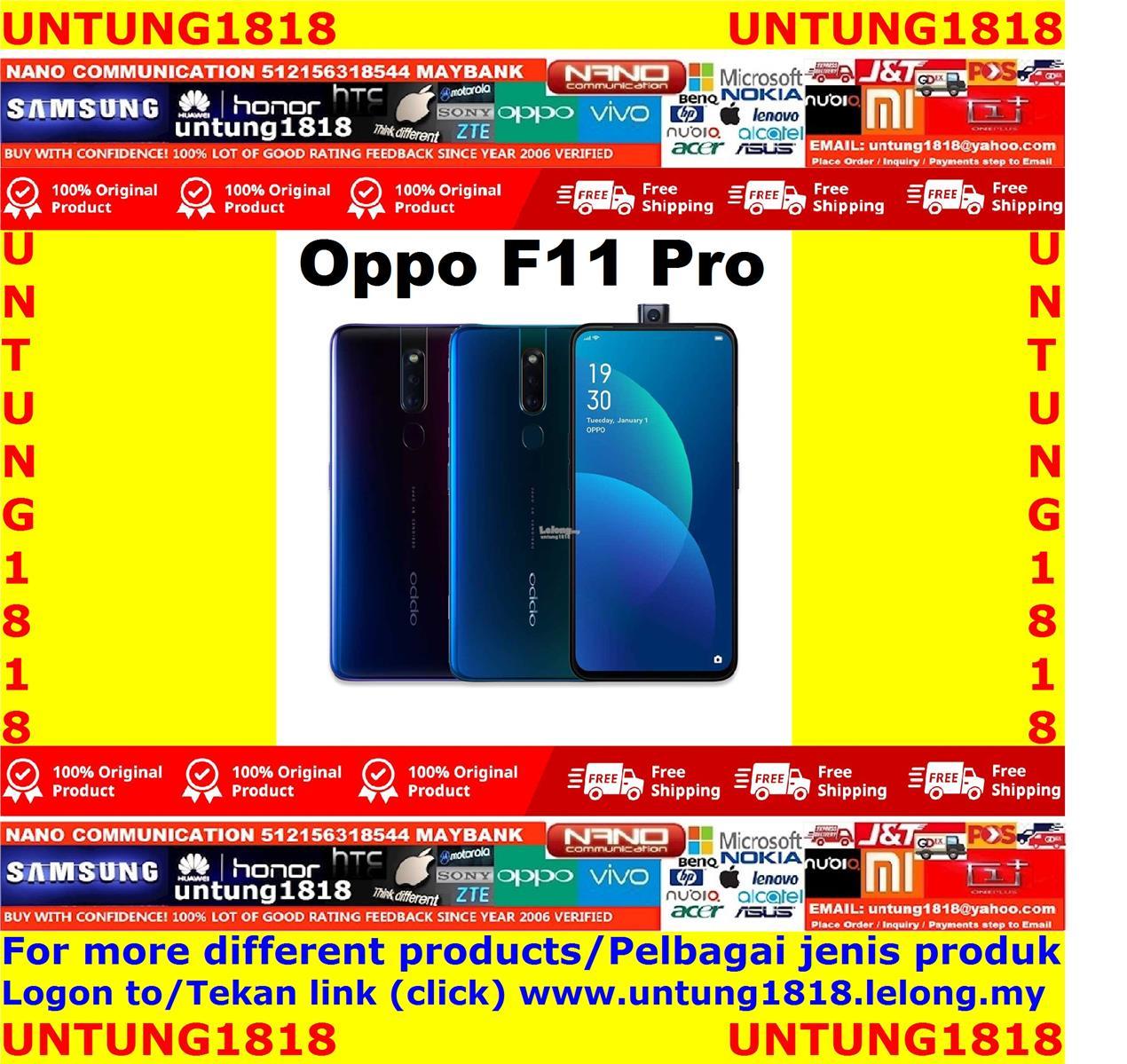 ORIGINAL.Oppo F11 Pro More Choice