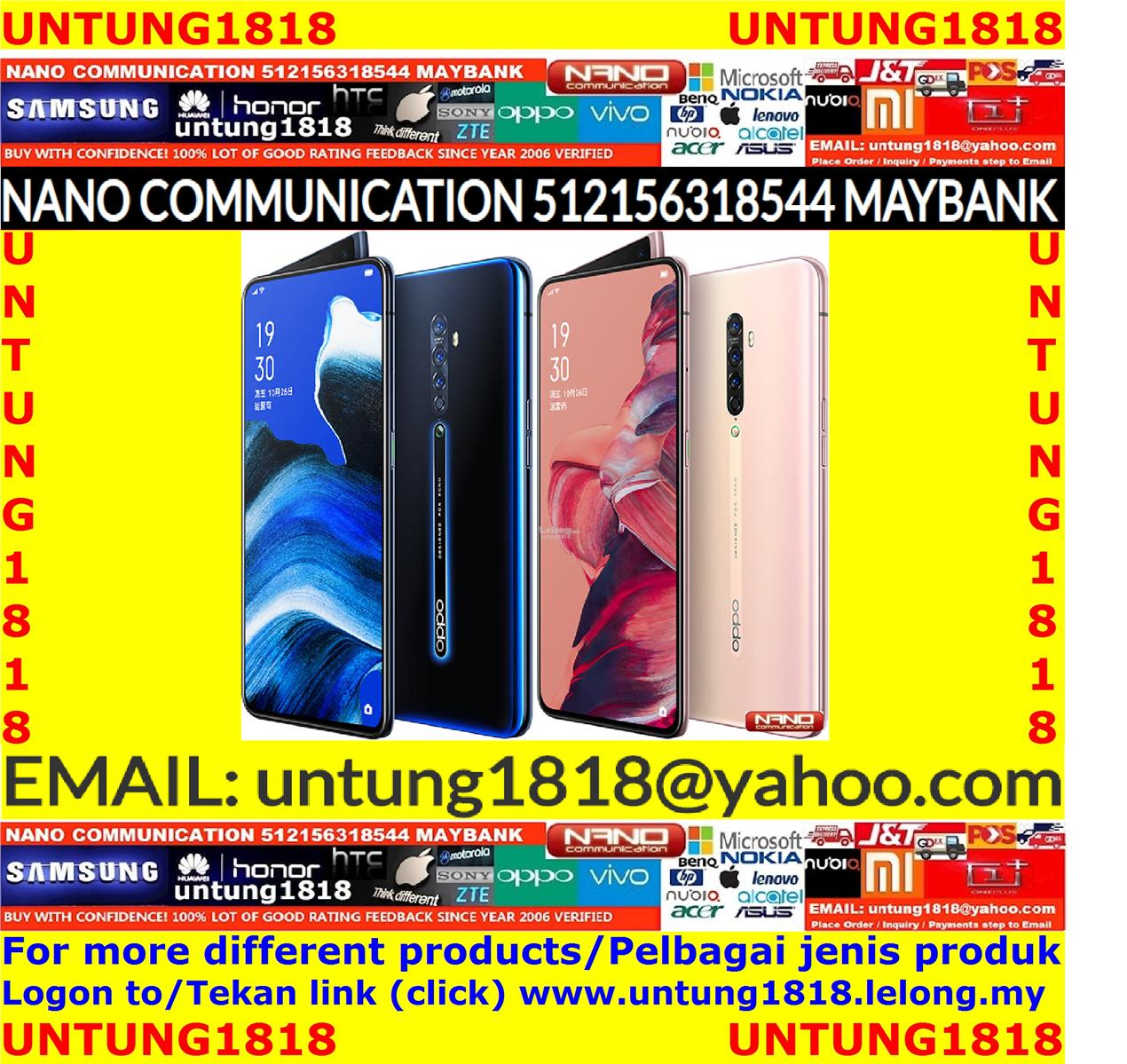 Original.Oppo Reno2 Reno 2 6.5 inches
