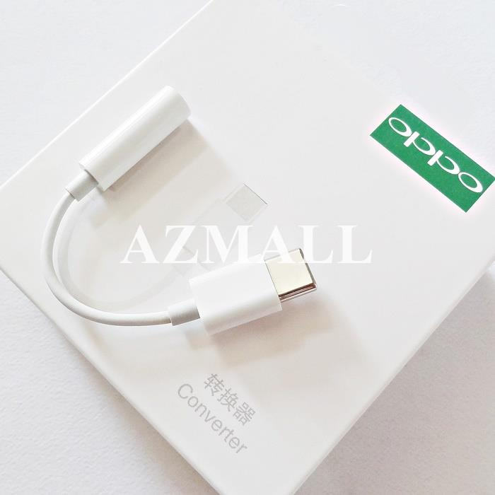 ORIGINAL OPPO Type C to 3.5mm Audio Jack Adapter Find X RX17 R17 Pro
