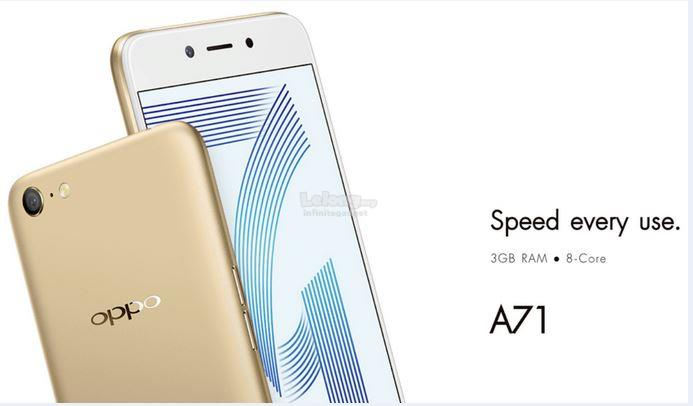 (ORIGINAL) OPPO WARRANTY Oppo A71 3GB RAM