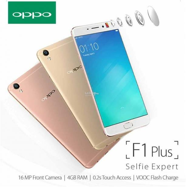 (ORIGINAL) OPPO WARRANTY OPPO F1 PLUS + 16MP HD 4GB RAM 64GB FREE GIFT