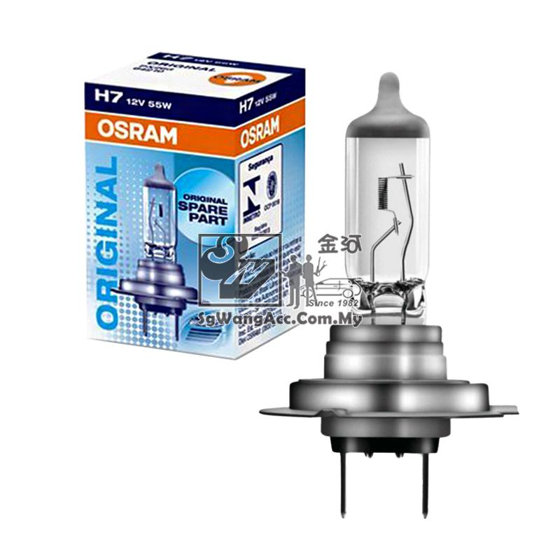 ORIGINAL Osram Halogen H7 12V 55W for Head Light / Fog Light