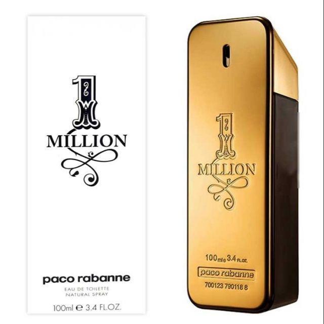 0c3d4dba54 ORIGINAL Paco Rabanne 1 million EDT 100ML Tester Perfume. ‹ ›