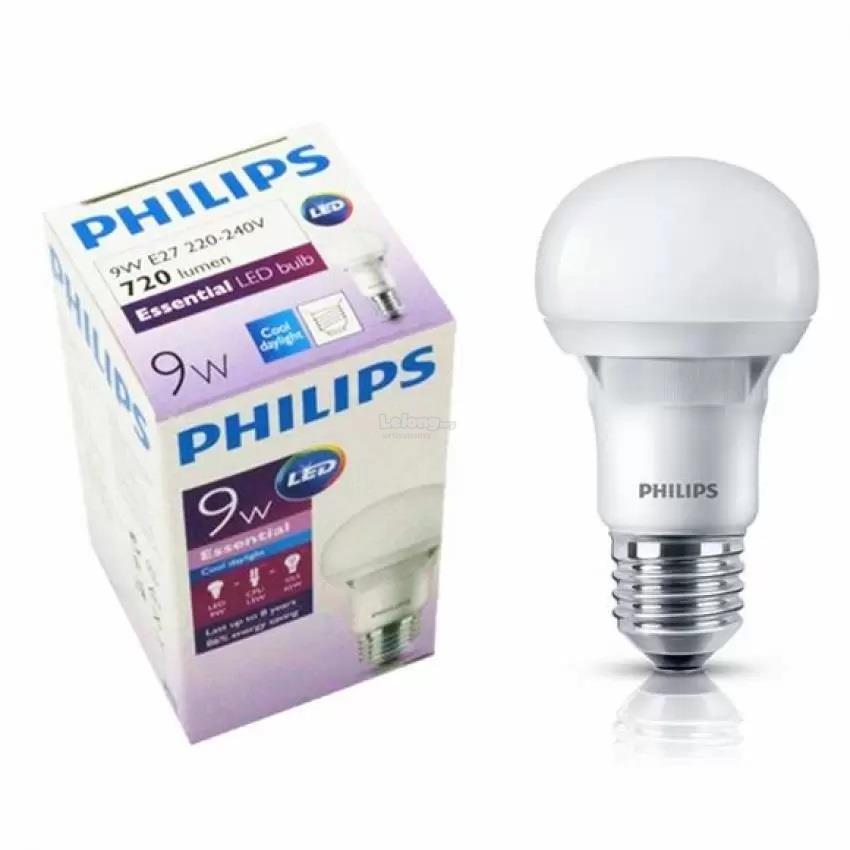 Original Philips Essential LED Bulb 9w E27 220 240V CDL. U2039 U203a