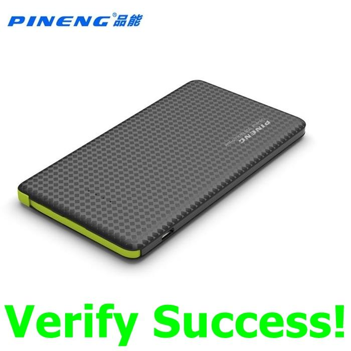 ORIGINAL PINENG PN-952 PN952 5000mAh Power Bank Samsung Note 5 4 3 2