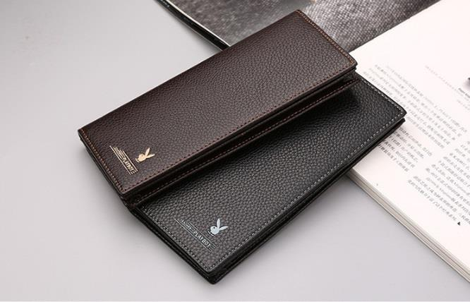 Original Playboy Men Leather Wallet High Quality Long Size Free Box. ‹ ›