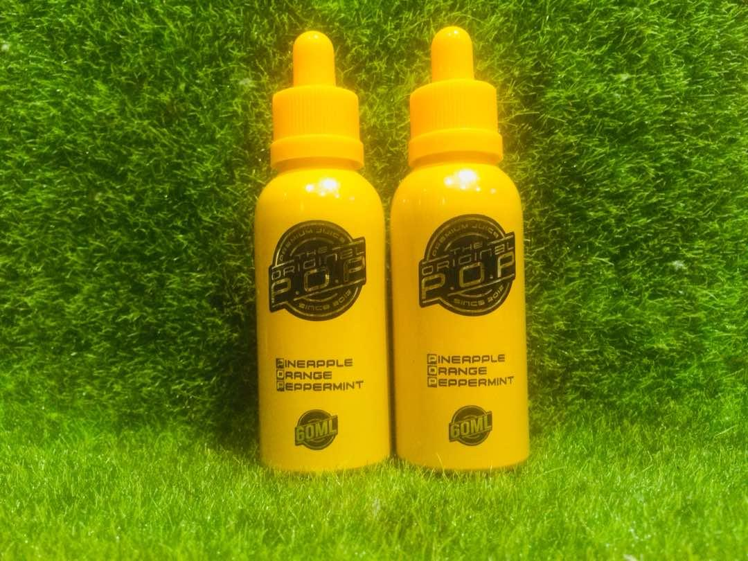 The Original POP  (6MG & 12MG @ 60ML)E Liquid Vape Juice