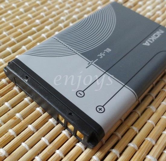 Original Quality Battery BL-5C Nokia 1110 1208 3110 5130 6680 7610 N70
