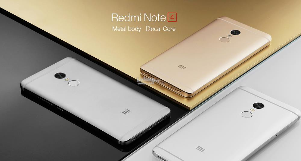 "(ORIGINAL) Redmi Note 4 LTE 5.5"" 3GB RAM 32GB 4100mAH"