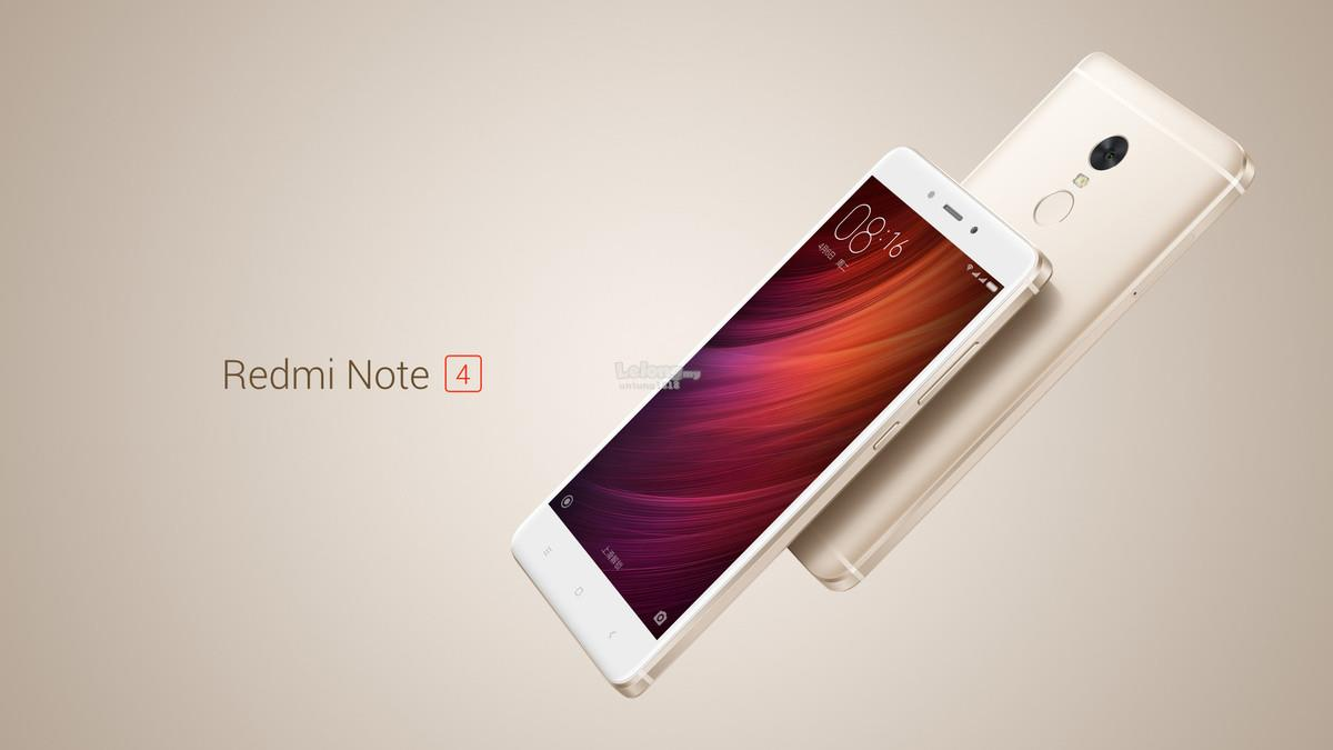 "(ORIGINAL) Redmi Note 4 LTE 5.5"" 4GB RAM 64GB 4100mAH"