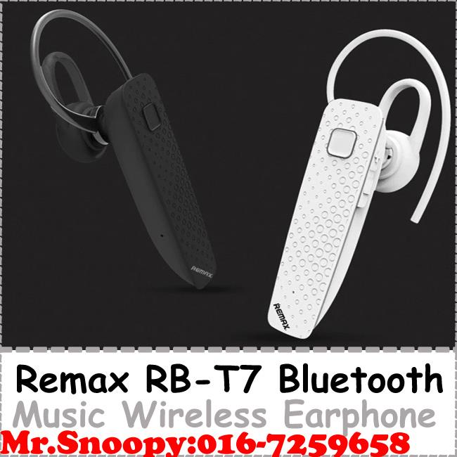 Original Remax 4.1 Bluetooth Earphone Remax RB T7 Bluetooth Headset Wi