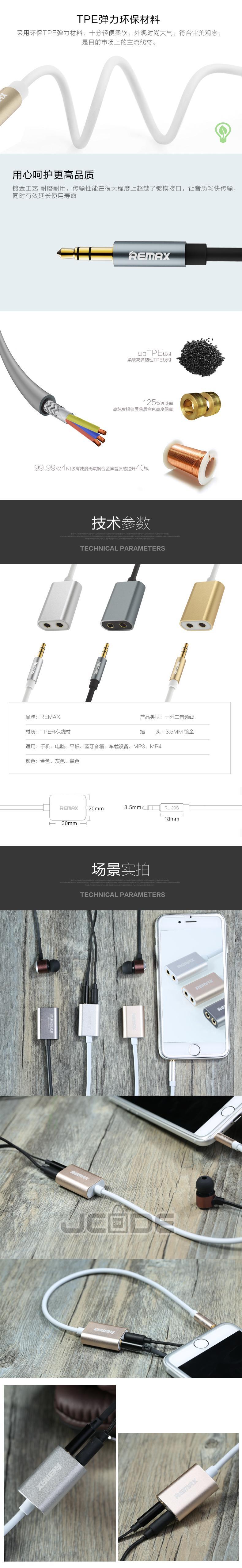 Original Remax Rl S20 35mm Dual Po End 1 20 2019 1215 Am Aux Audio Cable 20s Port Jack