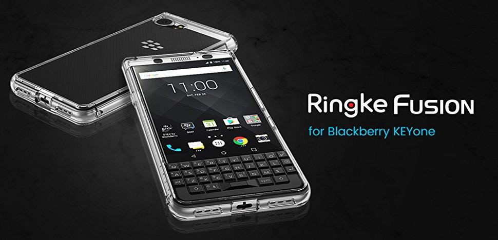 Original RINGKE Fusion Clear Case for Blackberry KeyOne!