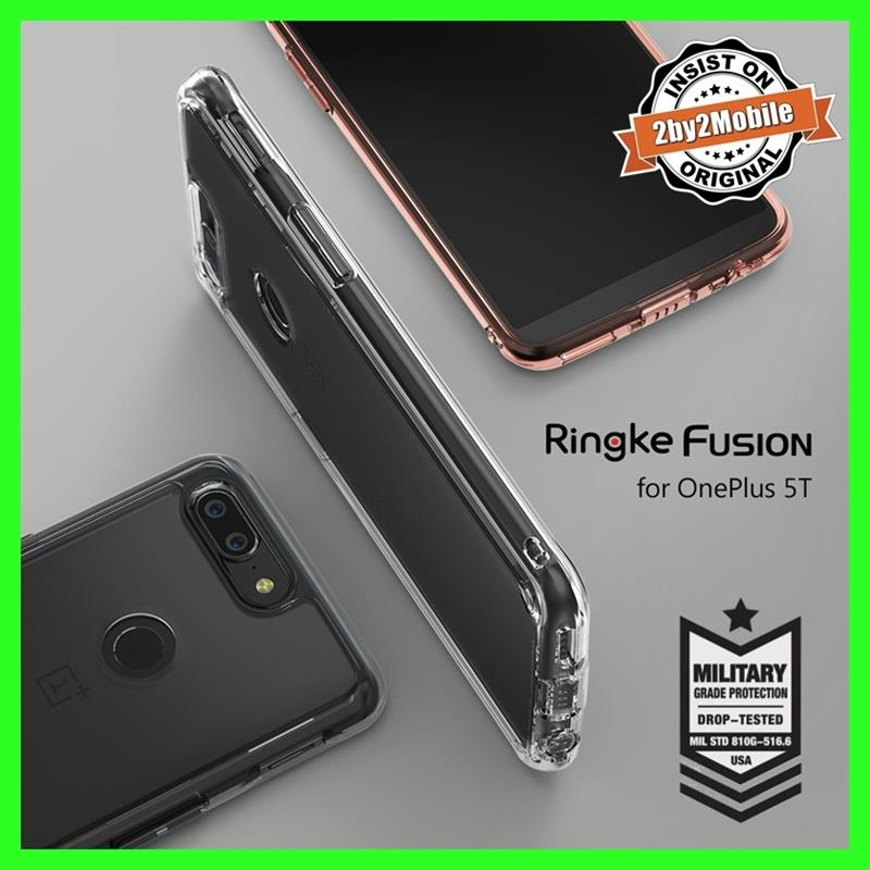 Original RINGKE FUSION OnePlus 5T One Plus 5T Case Cover Casing