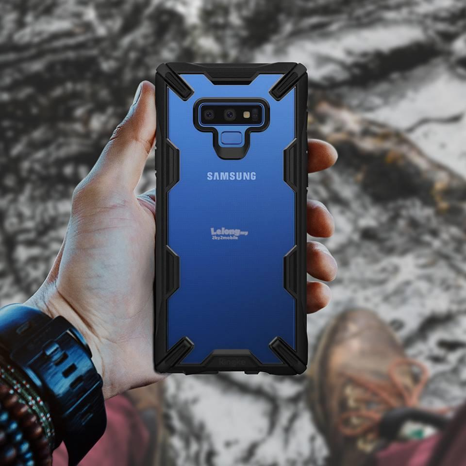 Original Ringke Fusion X Onyx Samsung Galaxy Note 9 Note9 case cover