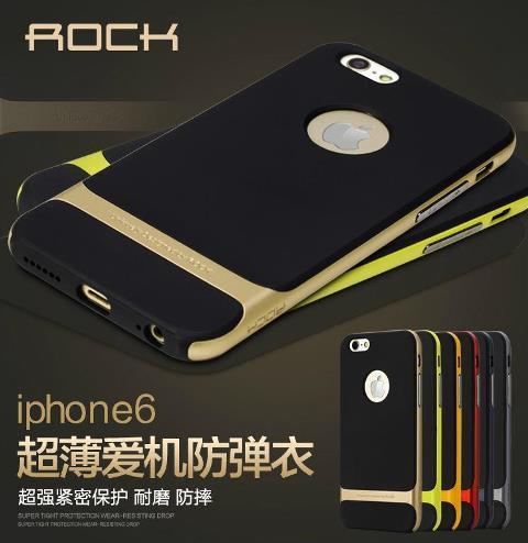 new style 9e3fb 3cfe1 Original ROCK Iphone 5 5S 5SE 6 6S PLUS Ultra Slim Case + Free Gift