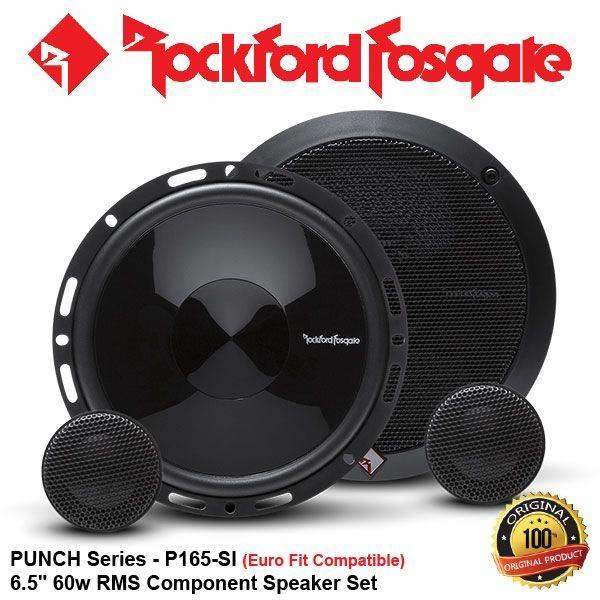 "ORIGINAL ROCKFORD FOSGATE PUNCH USA P165-SI 60W RMS 6.5"" SPEAKER SET"