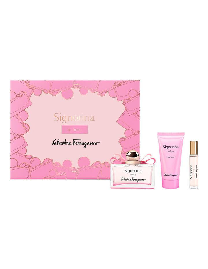 ORIGINAL Salvatore Ferragamo Signorina In Fiore EDT 100ML Gift Set