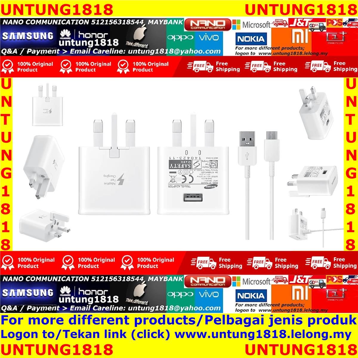 ORIGINAL.Samsung Charger More Choice*