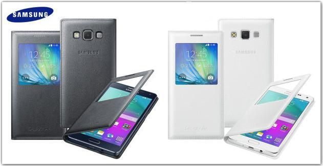 big sale 712ea a7478 Original Samsung Galaxy A5 S View Smart Cover Case